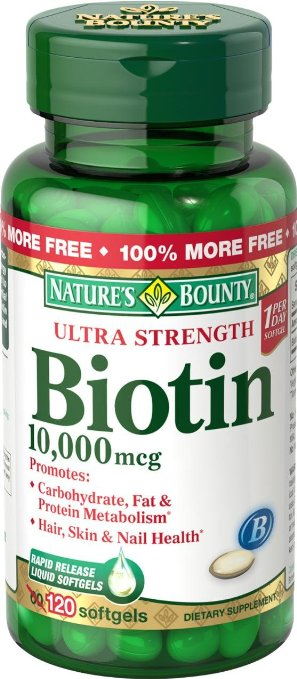 Biotina dosis pelo